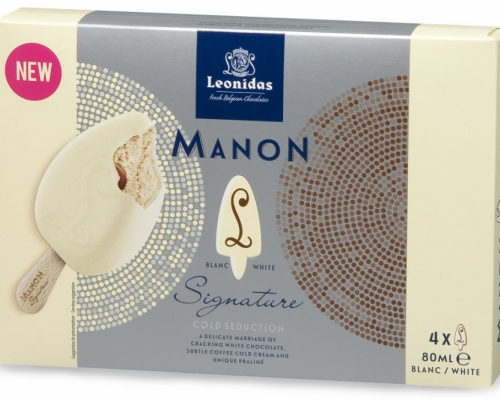 Leonidas Manon Signature White